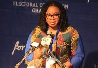 Charlotte Osei, EC Chairman
