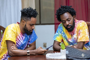 Ghanaian music group Dead Peepol