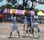 TTU (Blue) beat v KNUST in the opening round