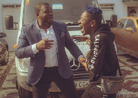Shatta Wale and Bull Dog seem to have smoked the peace pipe
