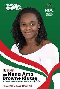 Dr Nana Ama Browne Klutse