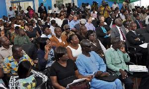 File photo: Participants at a TechnoServe event