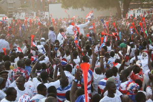 File photo of NPP supporters