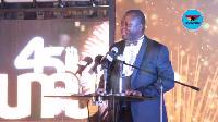 CEO of UMB, Mr. John Awuah