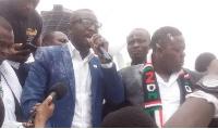 Salifu Maase aka Mugabe, Political talk show host at Montie Fm