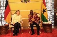German Chancellor, Angela Merkel and President Akufo-Addo