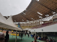The current state of the Essipong Stadium