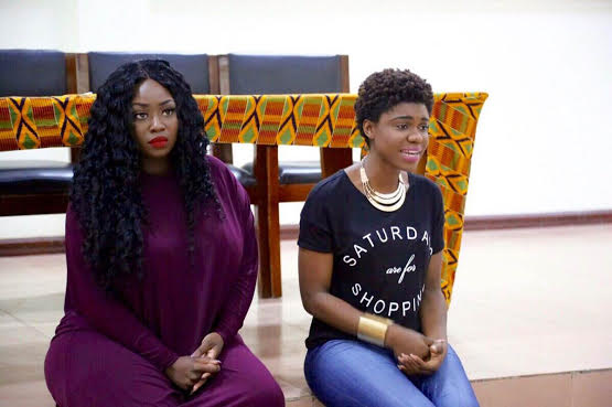 Peace Hyde and Becca