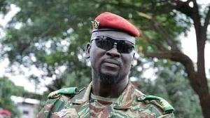 Guinean military office, Mamady Doumbouya