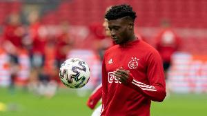 Ajax midfielder Mohammed Kudus