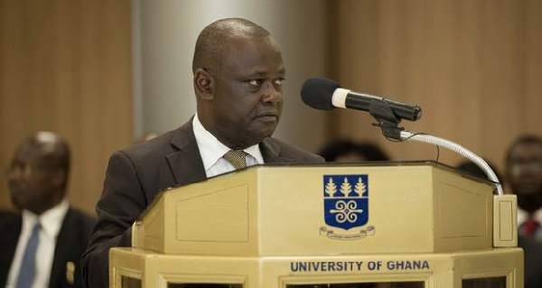UG Vice-Chancellor proposes adoption of international public accounting