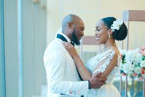 Eki Ogunbor and husband Osagie Aghedo