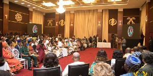 Some diasporans met with President Akufo-Addo at the Jubilee House as part of the Year of Return