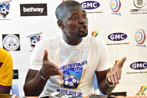 'Unhappy' Samuel Boadu shocks Medeama with resignation as head coach