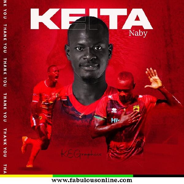 Former Kotoko striker Naby Keita moves to Libya