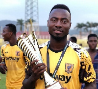 Eric Donkor hopes to win more trophies with Ashgold