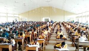 File Photo of BECE pupils