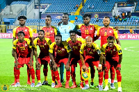 Ghana are third on Group F table