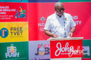 John Dramani Mahama, former president of Ghana