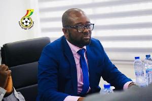 Kurt Okraku is President of the Ghana Football Association