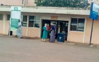 Patients seen at the Tamale Teaching Hospital after staff resumed work