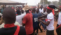 Supporters of the Chairman invaded the police station and forcibly removed two of their members