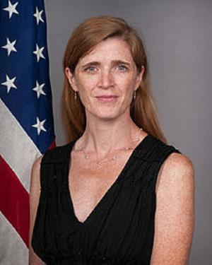 US aid chief, Samantha Power