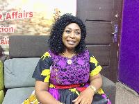 Veteran Gospel musician,  Mary Ghansah
