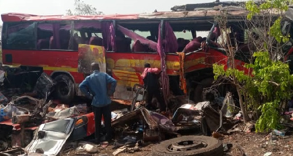 #GhanaWebRoadSafety: Do these 5 things if you witness an accident