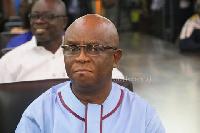 Volta Regional Minister, Dr Archibold Letsa
