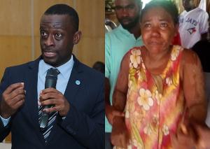 Western Regional Minister, Kwabena Okyere Darko-Mensah and Josephine Panyin Mensah