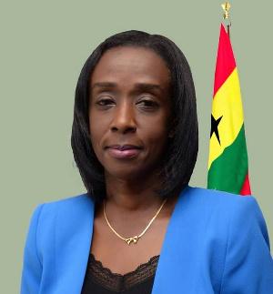 Chief Executive Officer, Mrs Delese Mimi Darko