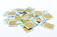There seem to be an influx of preregistered sim cards in the system