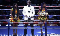 Nathaniel Attoh is undoubtedly one of the ring announcer's in Africa