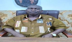 Presiding member of the Akuapem North Municipal Assembly, Nana Asiedu Offei