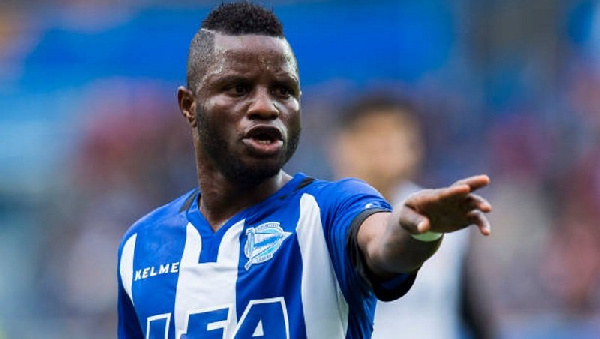 Mubarak Wakaso set to move to China to join Jiangsu Suning