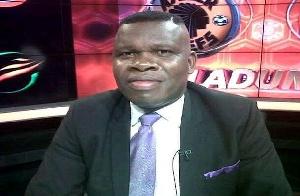 South African-based Ghanaian sports journalist, Cudjoe Amankwaa