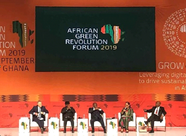 Zhang Junqi was among the panel at African Green Revolution Forum