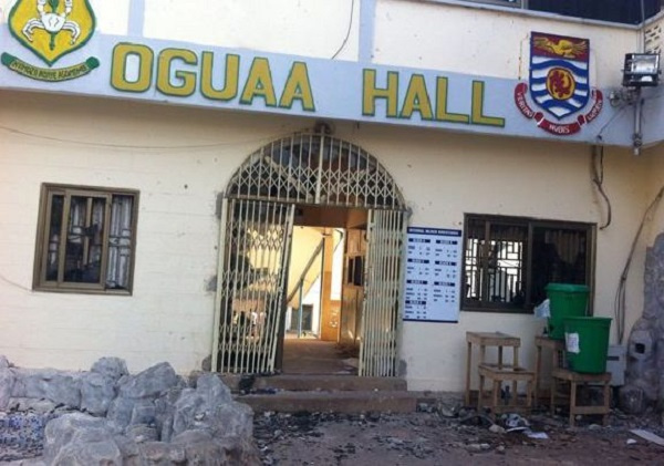 Police arrests students involved in 'bloody' Oguaa Hall week celebration