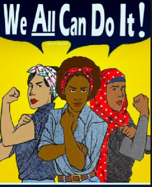 Feminism is the advocacy of women's rights on the ground of the equality of the sexes.