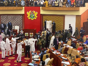 Election of Speaker of Parliament was characterised by chaos