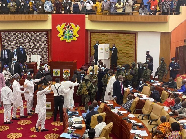 Election of Speaker: Ballot boxes were kicked to defend the constitution of Ghana – MP