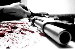 Robber Gunned Down