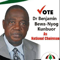 Dr Benjamin Kumbuor is aspiring for the Chairmanship position on the ticket of the NDC