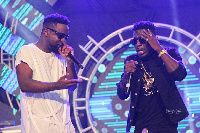Rapper Sarkodie and dancehall artiste, Shatta Wale