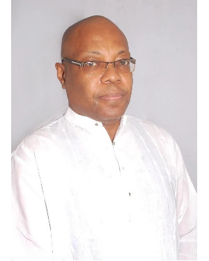Independent Parliamentary candidate, Michel Bowman Amuah