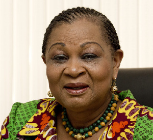 Joyce Aryee, a Minister of Communications under the PNDC regime