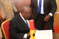 Martin Amidu has resigned as Special Prosecutor
