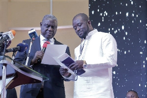 GFA President, Kurt Okraku and Chief Justice Anin Yeboah