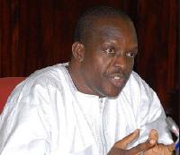 The Second deputy Speaker of Parliament, Alban Bagbin